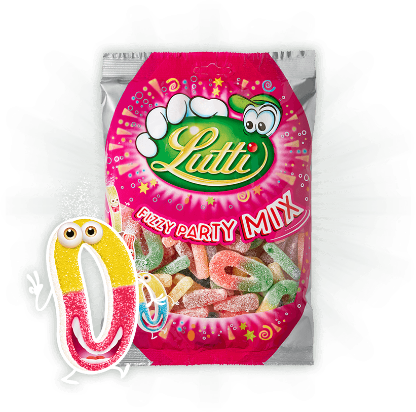 Lutti - Fizzy Party Mix