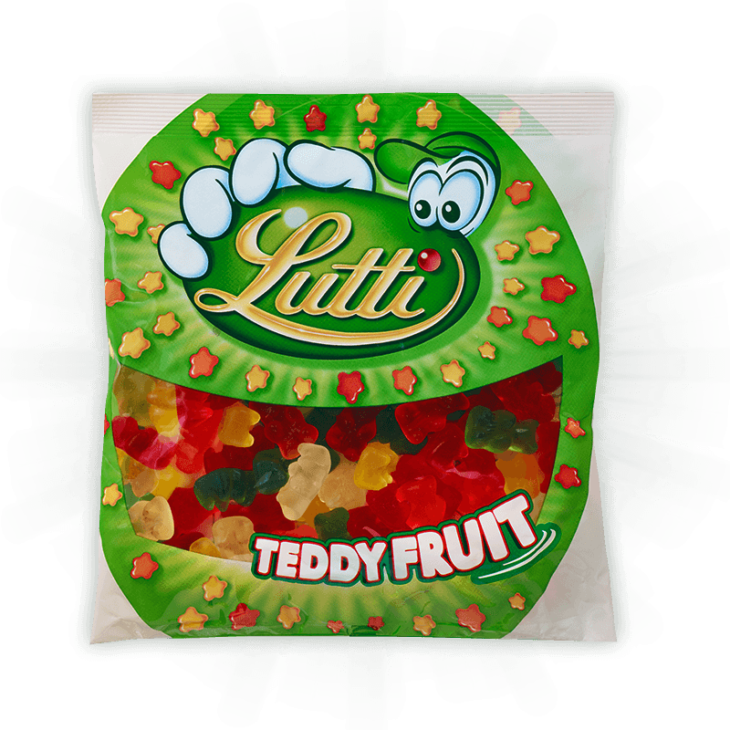 Lutti Teddy Fruit